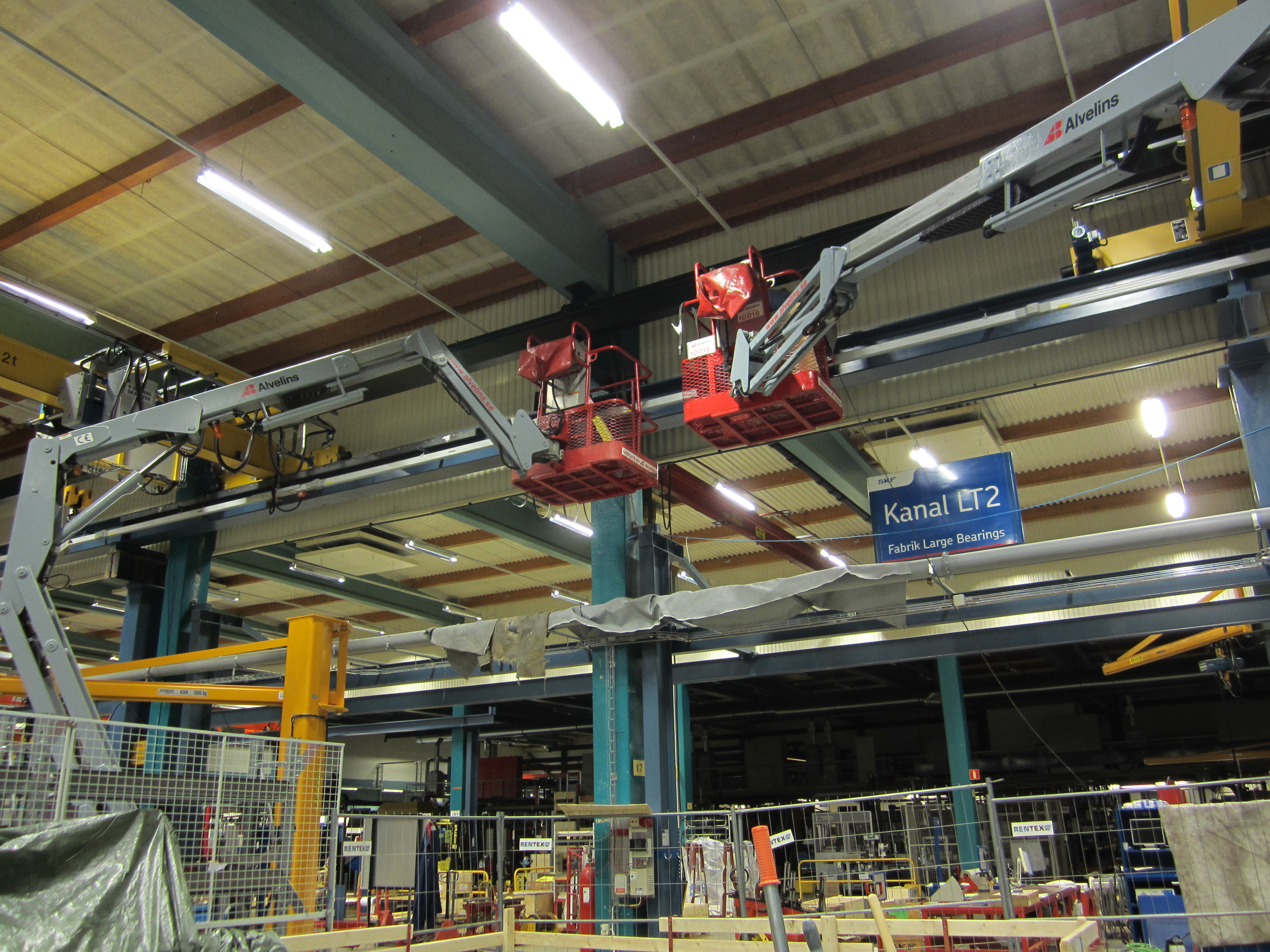 Dematek lyftutrustning kabelvinda v ggmontage - Terex material handling port solutions ag ...